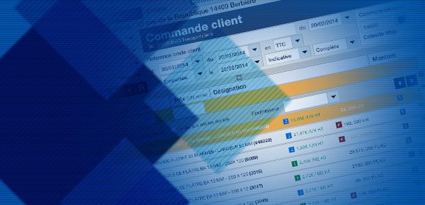 écran du logiciel Open Entreprise