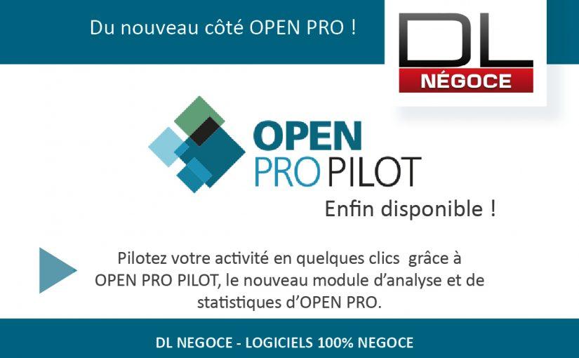 OPEN PRO PILOT enfin disponible !
