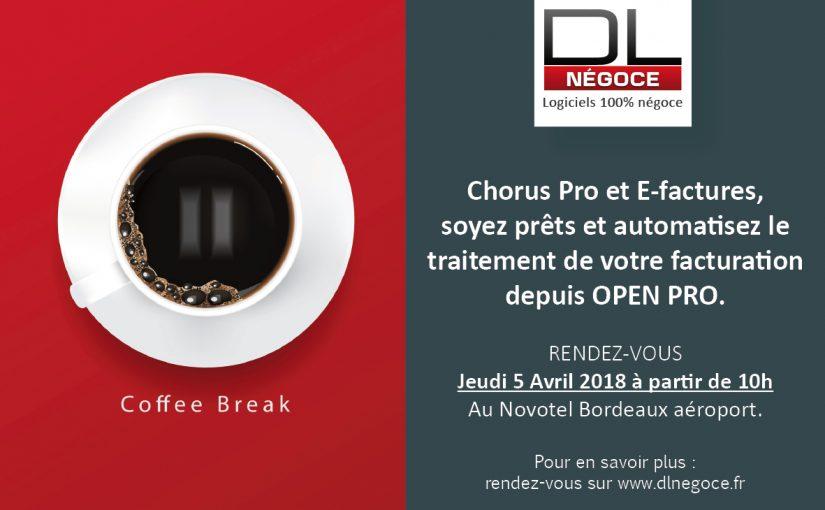 Chorus Pro et E-factures, soyez prêts et automatisez le traitement de votre facturation depuis OPEN PRO.