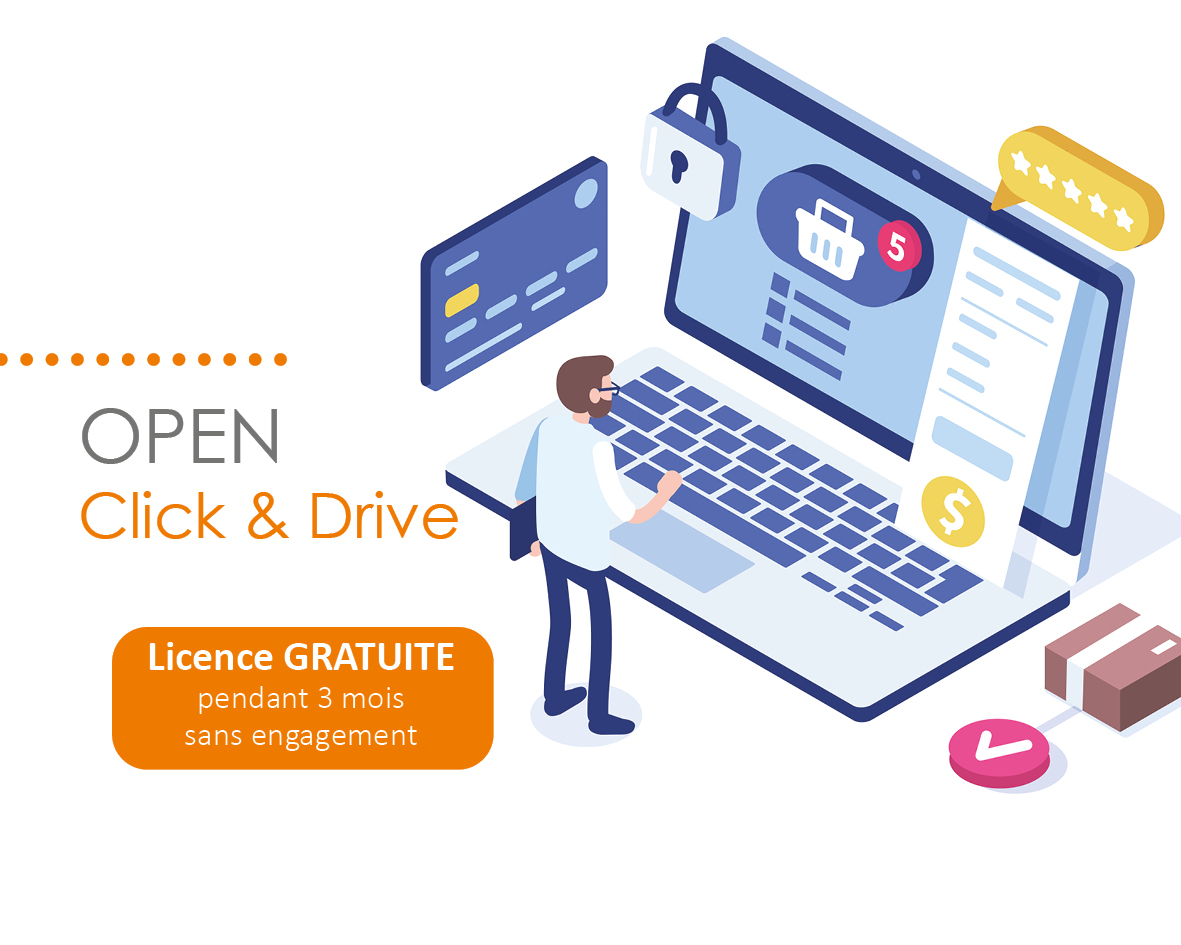 OPEN Click & Drive