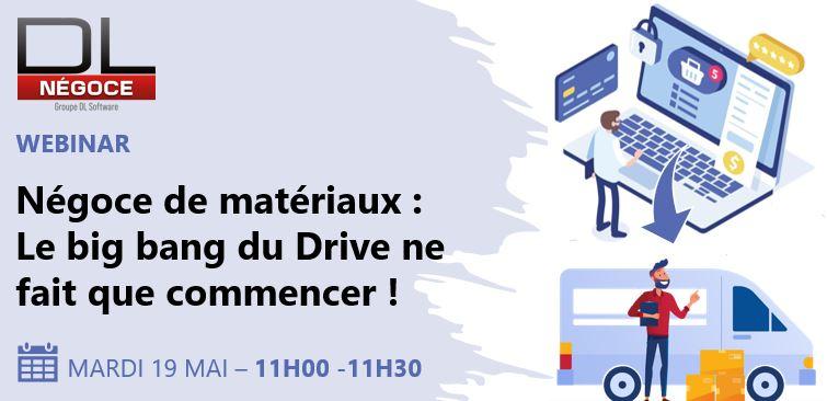 Mardi 19 Mai : WEBINAR Click & Drive
